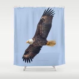 May Soaring Eagle Shower Curtain