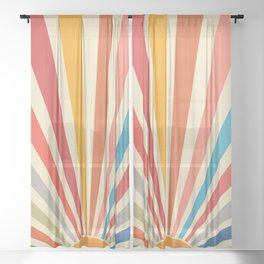 Cat Landscape 46 Sheer Curtain
