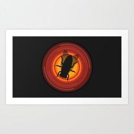 BrBa Fly Art Print