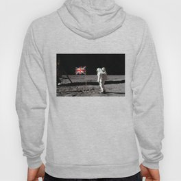 British Flag on the Moon Hoody