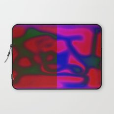 Red Color Leak Laptop Sleeve