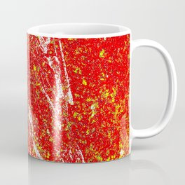 Abstract Splash One Coffee Mug