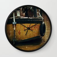 liverpool Wall Clocks featuring That's Liverpool not Liverpoo =) by Mark Bagshaw Photography