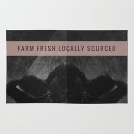 Farm Fresh locally sourced Rug