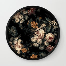 Midnight Garden XIV Wall Clock