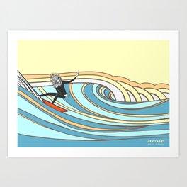 Joe Vickers Jonas Claesson Collab Art Print