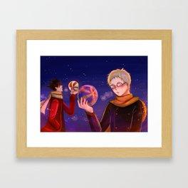 KRTK - night Framed Art Print