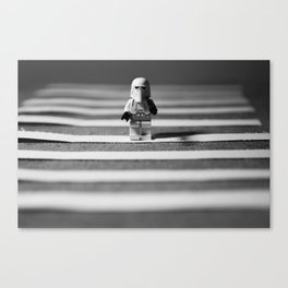 Crossing Canvas Print