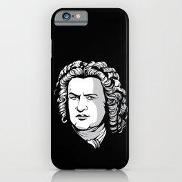 Bach Portrait iPhone Case