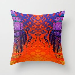 Abstract#1 Throw Pillow
