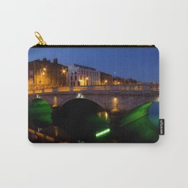 Dublin's River Liffey By Night Carry-All Pouch