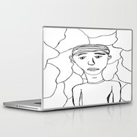 milan Laptop & iPad Skins featuring Milan by Plutonian Oatmeal
