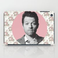 castiel iPad Cases featuring CASTIEL by Hands in the Sky