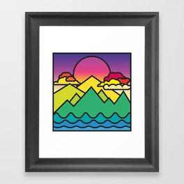 Warmer Times Framed Art Print