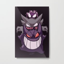 Nightmare Metal Print