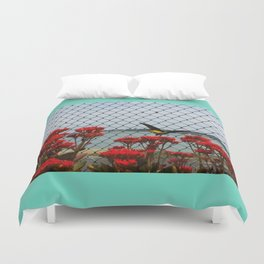 JUST PASSING BY Duvet Cover