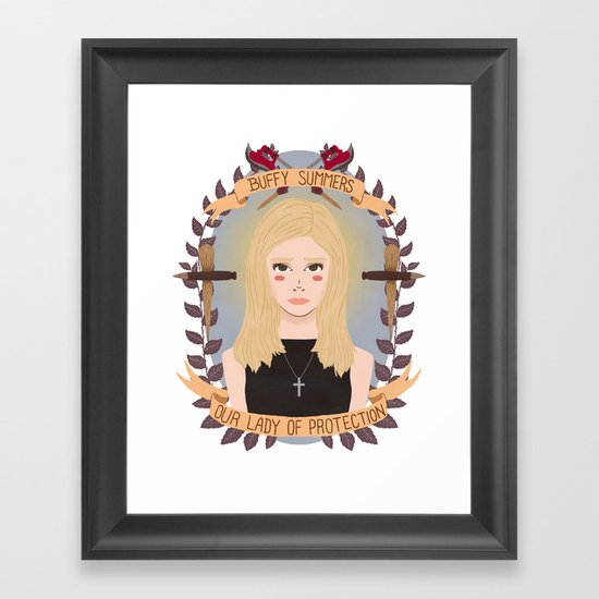 Buffy Summers Framed Art Print