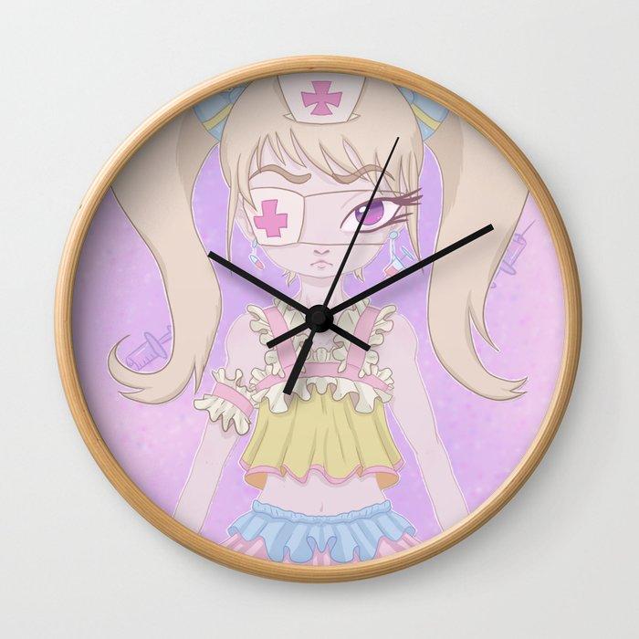 Nurse-chan Wall Clock