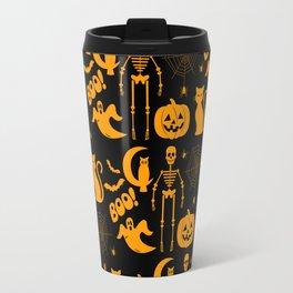 C13D Halloween Pattern Travel Mug