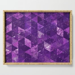 Abstract Geometric Background #35 Serving Tray