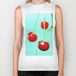Red cherries Biker Tank