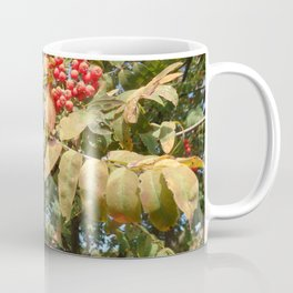 AUTUMN MOUNTAIN ASH TREE Coffee Mug