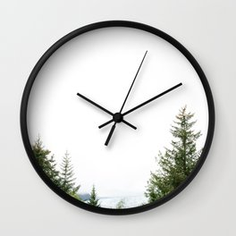 Sitka Mendenhall in Alaska Wall Clock