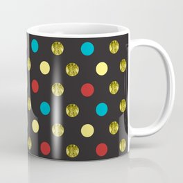 Golden Dots Coffee Mug