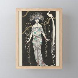 Journal des Dames et des Modes Costumes - George Barbier, 1914 Framed Mini Art Print