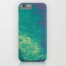 21-74-16 (Aquatic Glitch) Slim Case iPhone 6s