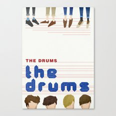 The Drums Canvas Print