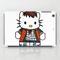 marty mcfly iPad Cases featuring Hello Marty by Jedi Candice