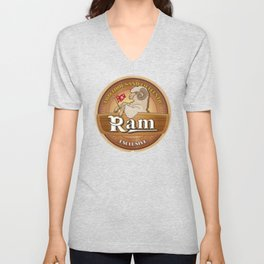 Exclusive the Ram TWO THOUSAND FIFTEENTH Unisex V-Neck