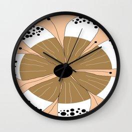 FLOWERY  LINDA / ORIGINAL DANISH DESIGN bykazandholly Wall Clock