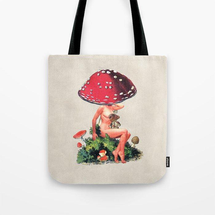 Shroom Girl Tote Bag