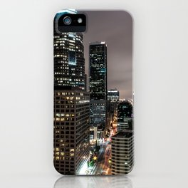 Downtown LA iPhone Case