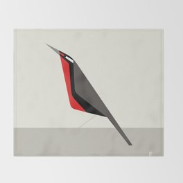 Loica chilena / Long-tailed meadowlark Throw Blanket