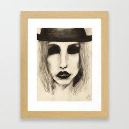 kesha Framed Art Print