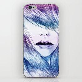 Winter Blur iPhone Skin