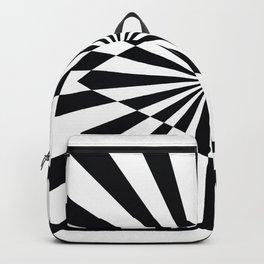 Optical Art Triangle Backpack