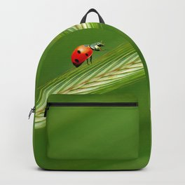 Ladybug green 74 Backpack