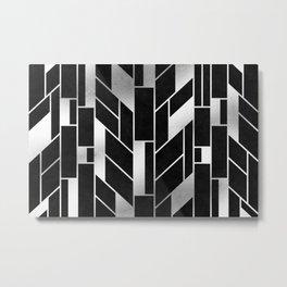Silver Tower Metal Print