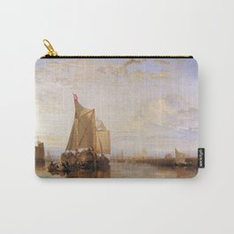 William Turner - The Dort Packet-Boat from Rotterdam Becalmed Carry-All Pouch