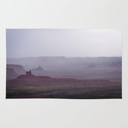 Rain in the Valley of the Gods Rug