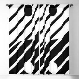 Yang + Stripes Blackout Curtain