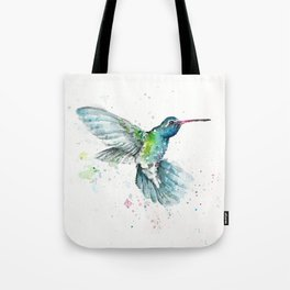 Hummingbird Flurry Tote Bag