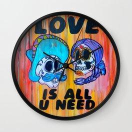 LOVE IS ALL U NEED Wall Clock