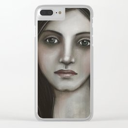 Thoughtful 3 Clear iPhone Case