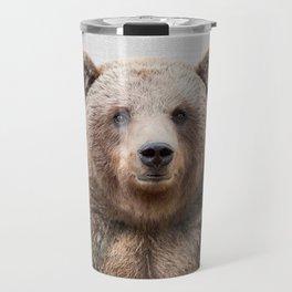 Grizzly Bear - Colorful Travel Mug