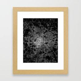 Paris map #2 Framed Art Print